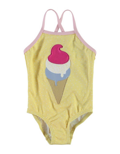 Name It Ice Cream Swimsuit-YELLOW-3-4