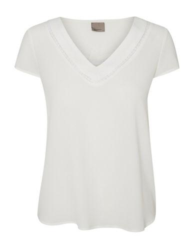 Vero Moda Justina T-Shirt-WHITE-Small 88911527_WHITE_Small