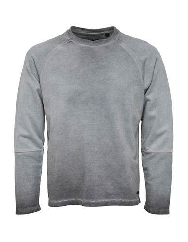 Only And Sons onsBARRY Crew Neck Top-GREY-Medium 88774365_GREY_Medium