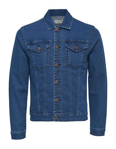 Only And Sons onsCHRIS Denim Jacket-BLUE-Small 88892179_BLUE_Small