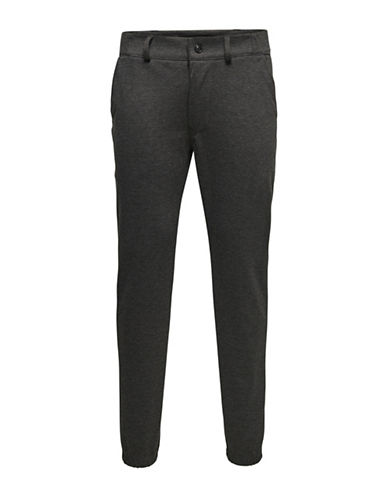 Only And Sons Tapered Slim Jeans-DARK GREY-28X34