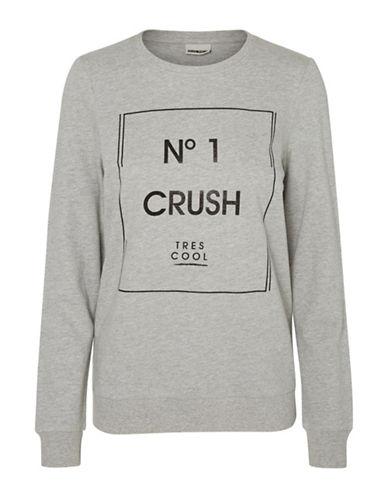 Noisy May Pana Graphic Printed T-Shirt-GREY-Medium 88864026_GREY_Medium