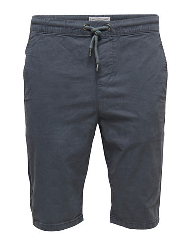 Only And Sons Henry Pinstripe Shorts-GREY-X-Large