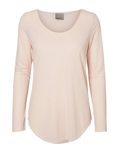 Vero Moda Lua Long Sleeve Top-PINK-Small 88911488_PINK_Small