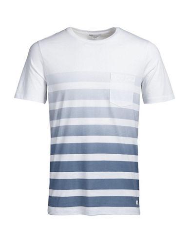 Jack & Jones Striped Pocket Tee-WHITE-Large 88732028_WHITE_Large