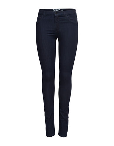 Only onlRAIN Regular Skinny Jeans-BLUE-X-Small