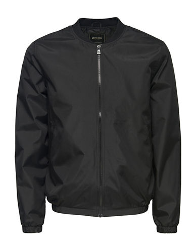 Only And Sons Bomber Jacket-BLACK-XX-Large 88915269_BLACK_XX-Large