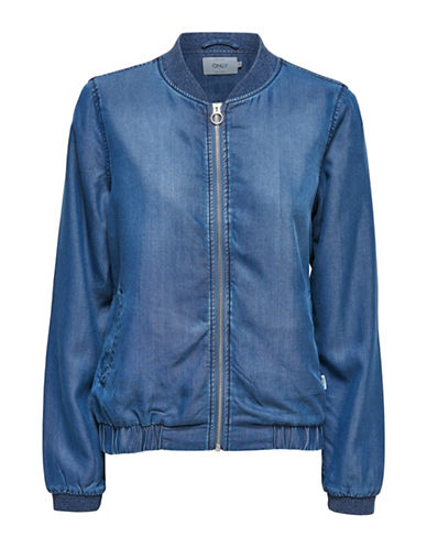 Only onlTERESA Bomber Jacket-BLUE-Small 89007592_BLUE_Small