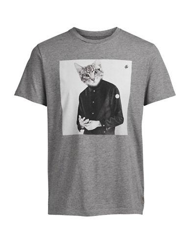 Jack & Jones Dog Print Tee-GREY-Medium 88768473_GREY_Medium