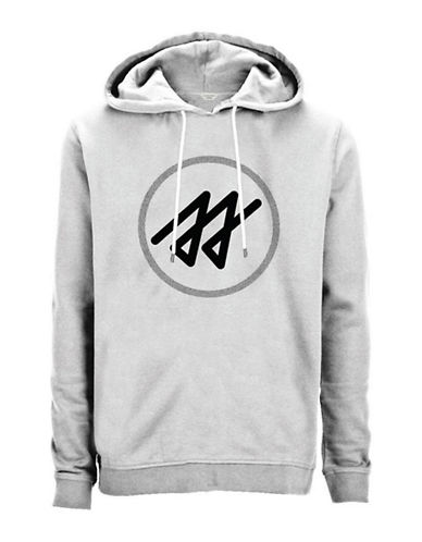 Jack & Jones Logo Pullover Hoodie-WHITE-Medium 88768568_WHITE_Medium