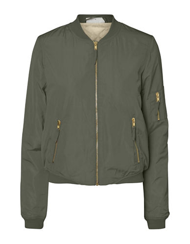 Noisy May Space Bomber Jacket-GREEN-Small 89039348_GREEN_Small