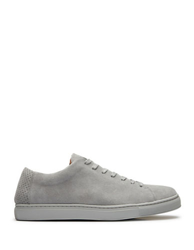 Selected David Suede Sneakers-GREY-EU 43/US 10