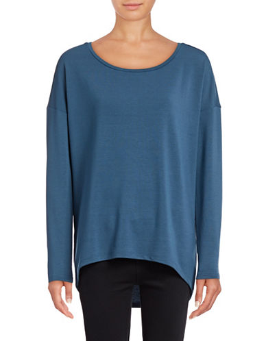Only onlNEW CLARA Long Sleeve Top-BLUE-Medium 88901038_BLUE_Medium