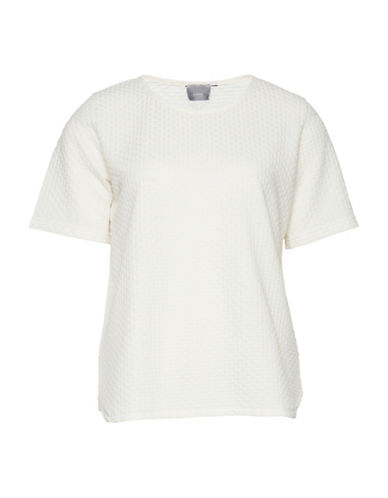 B. Young Siano Embossed Tee-NATURAL-Large
