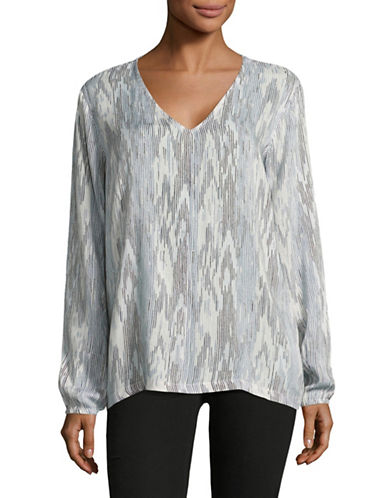 B. Young Gilda Blouse-BLUE-38