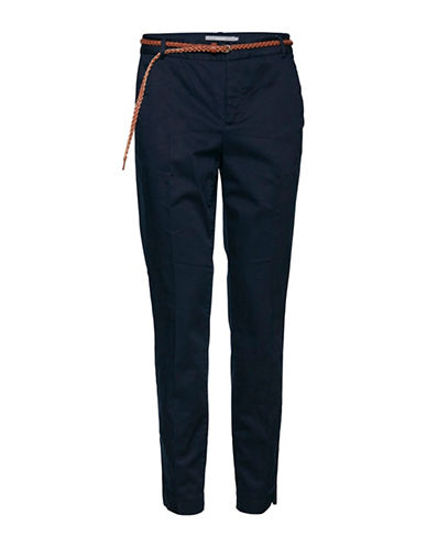 B. Young Days Cotton Blend Pants-BLUE-40