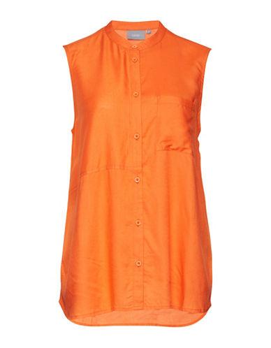 B. Young Hiza Sleeveless Shirt-ORANGE-34
