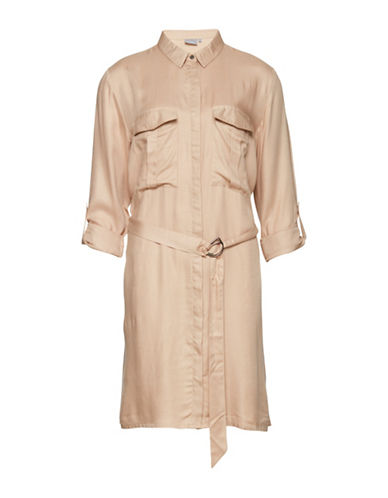 B. Young Gillian Dress-BEIGE-34
