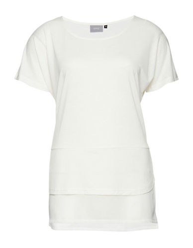 B. Young Sevindro Tee-WHITE-X-Small