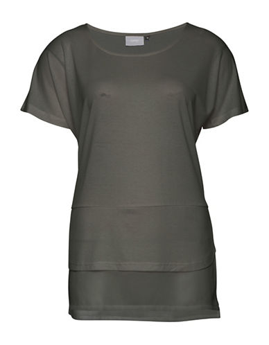 B. Young Sevindro Tee-GREY-Large