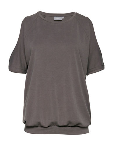 B. Young Saco Short Sleeve Tee-GREY-Medium 89174749_GREY_Medium