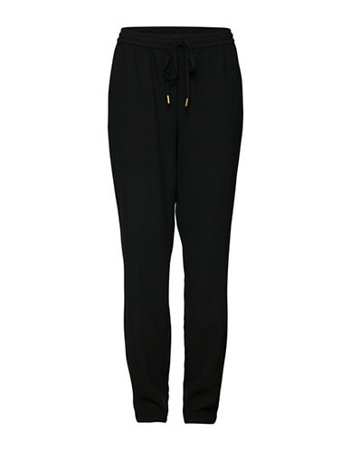 B. Young Garva Pants-BLACK-38