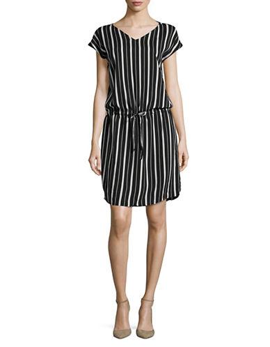 B. Young Ilisa Short Sleeve Dress-BLACK-34