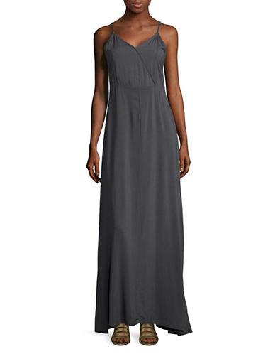 B. Young Ilisa Maxi Dress-GREY-36