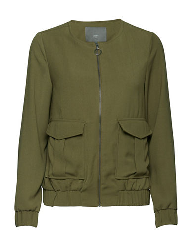 Ichi Front Pocket Bomber-GREEN-Medium