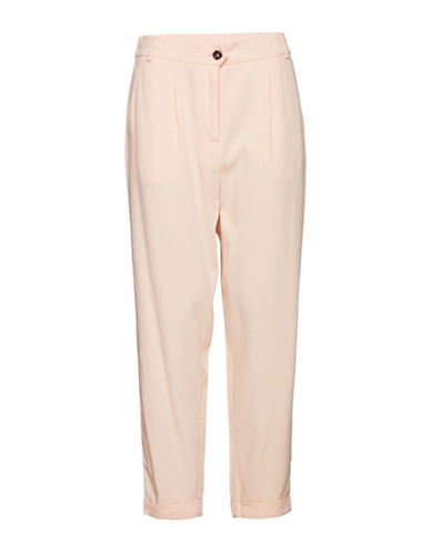 B. Young Dante Elasticized Pants-PINK-34