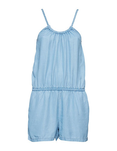 B. Young Harimo Blouson Playsuit-BLUE-36