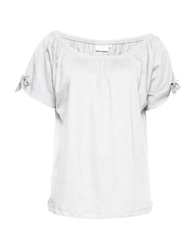 B. Young Tilavi Off-the-Shoulder Top-WHITE-Small