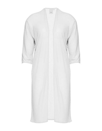 Ichi Milo Open-Front Cardigan-WHITE-Medium/Large