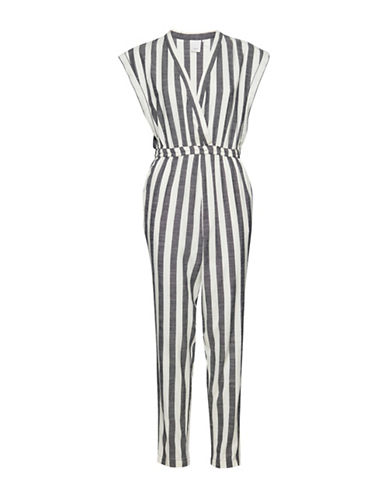 Ichi Dehli Striped Jumpsuit-ASSORTED-36