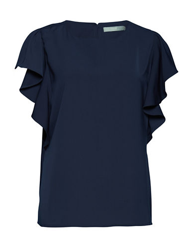 B. Young Hellie Blouse-BLUE-36