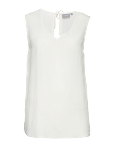 B. Young Jyna Sleeveless Top-WHITE-42