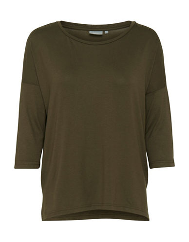 B. Young Jazlyn Blouse-GREEN-X-Small