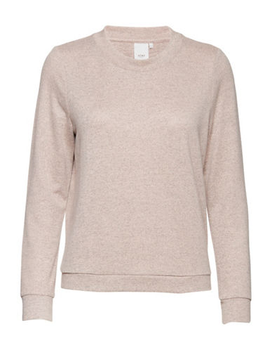 Ichi Luise Long Sleeve Pullover-PINK-Large