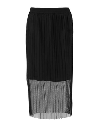 B. Young Gova Skirt-BLACK-38