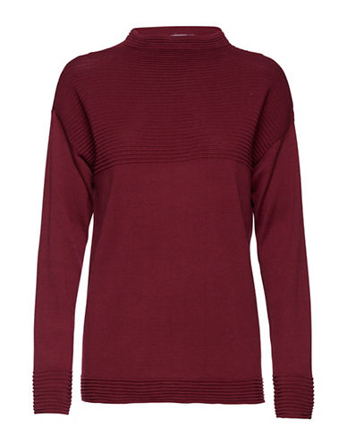 B. Young Makio Sweater-RED-Large