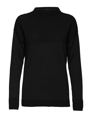 B. Young Makio Sweater-BLACK-X-Small