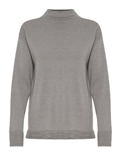 B. Young Makio Sweater-GREY-X-Small
