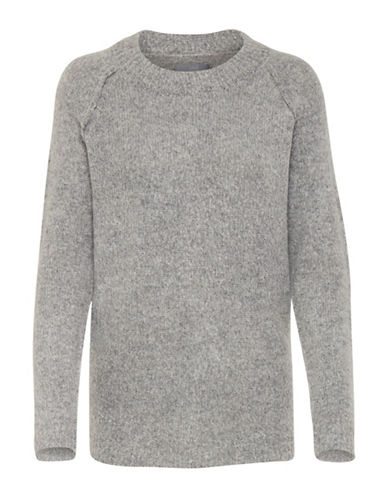 B. Young Mirelle Sweater-GREY-X-Small