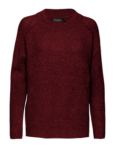 B. Young Mirelle Sweater-RED-X-Small