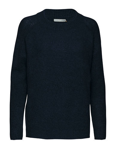 B. Young Mirelle Sweater-BLUE-Small