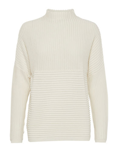 B. Young Nadio Textured Pullover-WHITE-Medium 89642823_WHITE_Medium