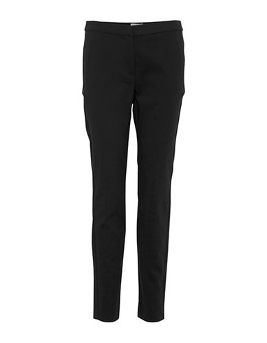B. Young Ella Pull-On Pants-BLACK-34