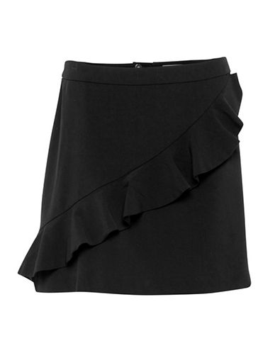 B. Young Danali Skirt-BLACK-38
