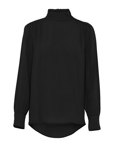 B. Young Genio Blouse-BLACK-38