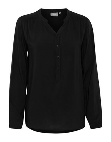 B. Young Imillo Buttoned Top-BLACK-36